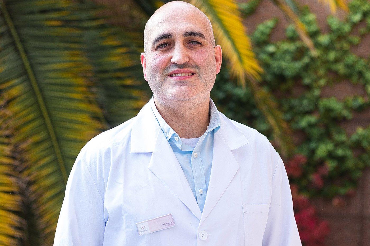 Raúl García massage de fertilité